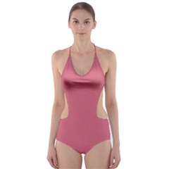 Rosey Cut Out One Piece Swimsuit