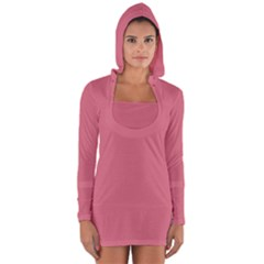 Rosey Long Sleeve Hooded T Shirt