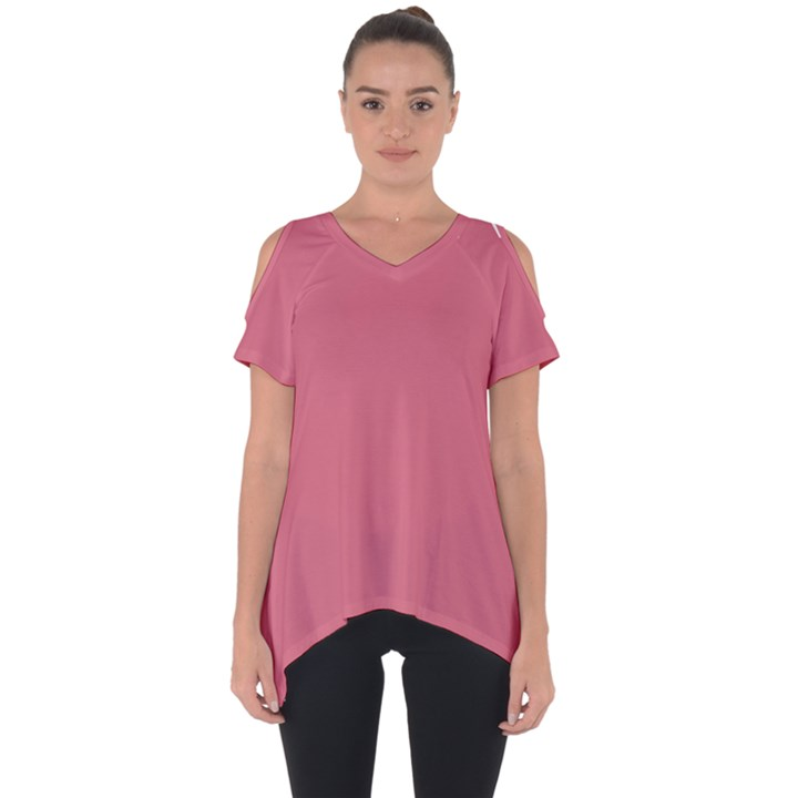 Rosey Cut Out Side Drop Tee