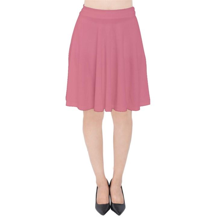 Rosey Velvet High Waist Skirt