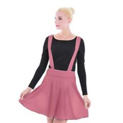 Rosey Suspender Skater Skirt