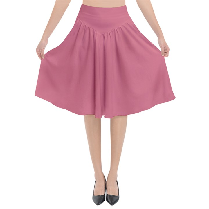 Rosey Flared Midi Skirt