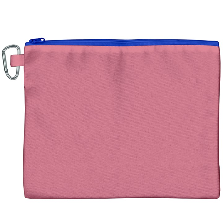 Rosey Canvas Cosmetic Bag (XXXL)