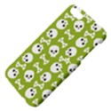 Skull Bone Mask Face White Green Apple iPhone 5 Hardshell Case with Stand View4