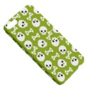 Skull Bone Mask Face White Green Apple iPhone 5 Hardshell Case with Stand View5