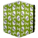 Skull Bone Mask Face White Green Samsung Galaxy Tab 8.9  P7300 Flip Case View4