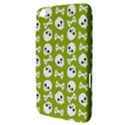 Skull Bone Mask Face White Green Samsung Galaxy Tab 3 (8 ) T3100 Hardshell Case  View3