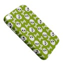 Skull Bone Mask Face White Green Samsung Galaxy Tab 3 (8 ) T3100 Hardshell Case  View5