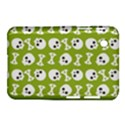 Skull Bone Mask Face White Green Samsung Galaxy Tab 2 (7 ) P3100 Hardshell Case  View1