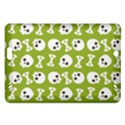 Skull Bone Mask Face White Green Amazon Kindle Fire HD (2013) Hardshell Case View1