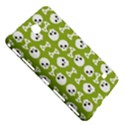 Skull Bone Mask Face White Green Samsung Galaxy Tab 4 (7 ) Hardshell Case  View5