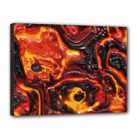 Lava Active Volcano Nature Canvas 16  X 12
