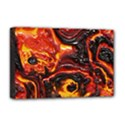 Lava Active Volcano Nature Deluxe Canvas 18  x 12   View1