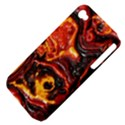 Lava Active Volcano Nature Apple iPhone 4/4S Hardshell Case (PC+Silicone) View4