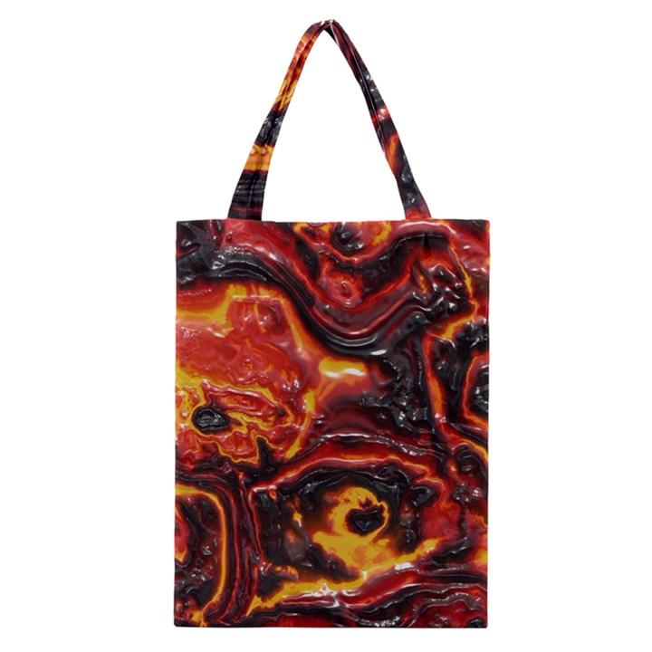 Lava Active Volcano Nature Classic Tote Bag