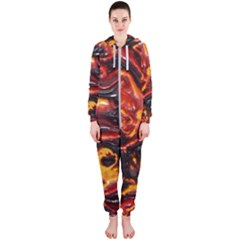 Lava Active Volcano Nature Hooded Jumpsuit (ladies)