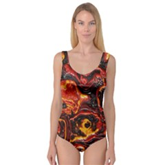 Lava Active Volcano Nature Princess Tank Leotard