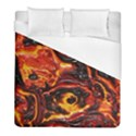 Lava Active Volcano Nature Duvet Cover (Full/ Double Size) View1