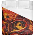 Lava Active Volcano Nature Duvet Cover (King Size) View1