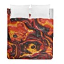 Lava Active Volcano Nature Duvet Cover Double Side (Full/ Double Size) View1