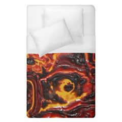 Lava Active Volcano Nature Duvet Cover (single Size)