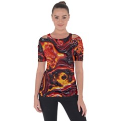 Lava Active Volcano Nature Short Sleeve Top