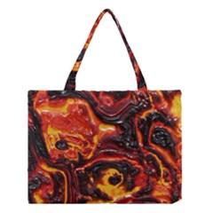Lava Active Volcano Nature Medium Tote Bag