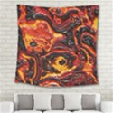 Lava Active Volcano Nature Square Tapestry (Large) View2
