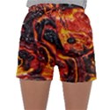 Lava Active Volcano Nature Sleepwear Shorts View1