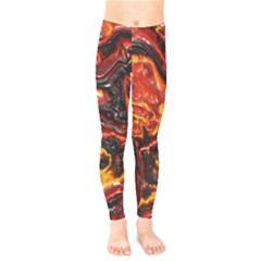 Lava Active Volcano Nature Kids  Legging