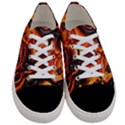 Lava Active Volcano Nature Women s Low Top Canvas Sneakers View1