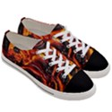 Lava Active Volcano Nature Women s Low Top Canvas Sneakers View3