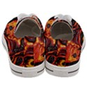 Lava Active Volcano Nature Women s Low Top Canvas Sneakers View4