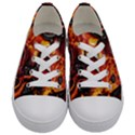 Lava Active Volcano Nature Kids  Low Top Canvas Sneakers View1