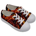 Lava Active Volcano Nature Kids  Low Top Canvas Sneakers View3