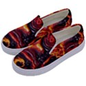 Lava Active Volcano Nature Kids  Canvas Slip Ons View2