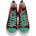 Lava Active Volcano Nature Women s Mid-Top Canvas Sneakers View1