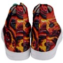 Lava Active Volcano Nature Women s Mid-Top Canvas Sneakers View4