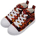 Lava Active Volcano Nature Kid s Mid-Top Canvas Sneakers View2