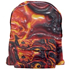 Lava Active Volcano Nature Giant Full Print Backpack