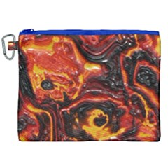 Lava Active Volcano Nature Canvas Cosmetic Bag (xxl)