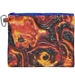 Lava Active Volcano Nature Canvas Cosmetic Bag (xxxl)