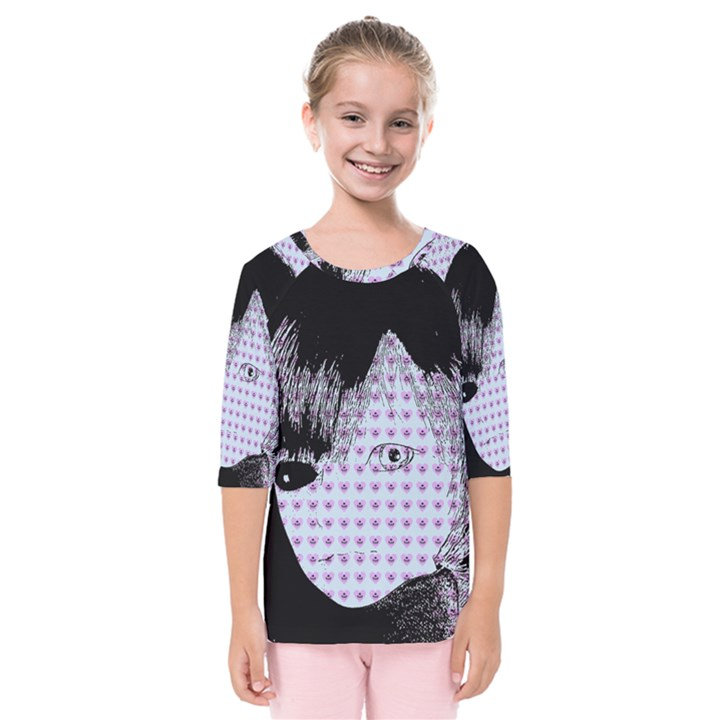 Heartwill Kids  Quarter Sleeve Raglan Tee
