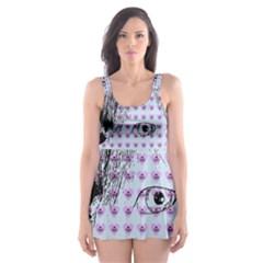 Heartwill Skater Dress Swimsuit