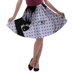 Heartwill A Line Skater Skirt