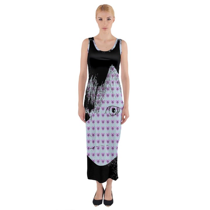 Heartwill Fitted Maxi Dress