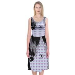 Heartwill Midi Sleeveless Dress