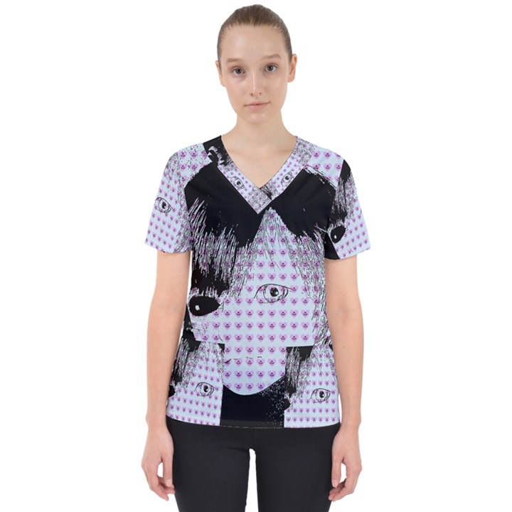Heartwill Scrub Top
