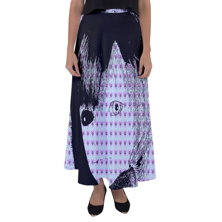 Heartwill Flared Maxi Skirt