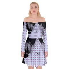 Heartwill Off Shoulder Skater Dress